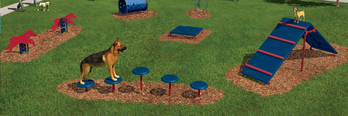 Dog Agility Course and Dog Park Products
